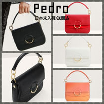 Pedro Casual Style Faux Fur 2WAY Elegant Style Shoulder Bags
