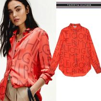 Tommy Hilfiger Long Sleeves Shirts & Blouses