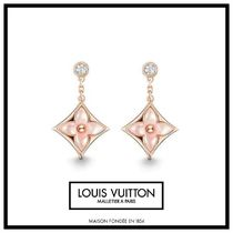 Louis Vuitton MONOGRAM Costume Jewelry Casual Style Blended Fabrics Flower