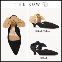 The Row Leather Pin Heels Stiletto Pumps & Mules