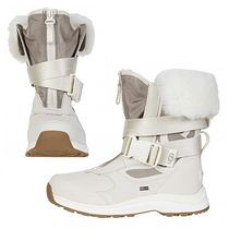 UGG Australia Mountain Boots Casual Style Street Style Plain Leather
