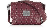 RED VALENTINO Leather Elegant Style Shoulder Bags