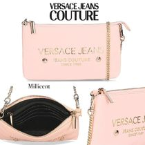 VERSACE JEANS Casual Style Blended Fabrics Studded 2WAY Bi-color Chain