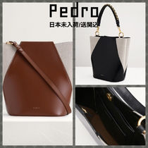 Pedro Casual Style Faux Fur A4 2WAY Elegant Style Shoulder Bags