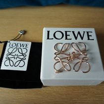 LOEWE Party Style Silver Brass Elegant Style Formal Style