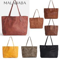 Malababa Casual Style Elegant Style Totes