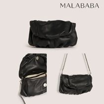 Malababa Casual Style Plain Elegant Style Shoulder Bags