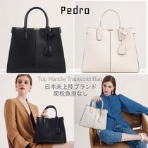 Pedro Casual Style Faux Fur 2WAY Plain Party Style Office Style