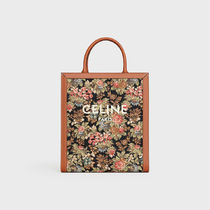 CELINE Cabas Casual Style Leather Elegant Style Totes