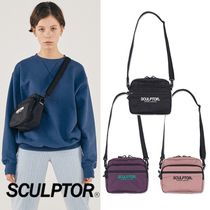 SCULPTOR Plain Logo Shoulder Bags