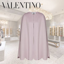 VALENTINO Wool Cashmere Ponchos & Capes