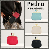 Pedro Casual Style Faux Fur 2WAY Party Style Elegant Style