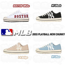 MLB Korea Casual Style Street Style Low-Top Sneakers