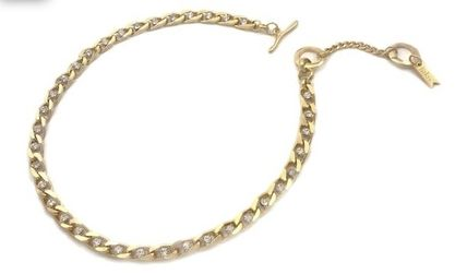 Chain Party Style Brass 14K Gold Elegant Style