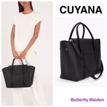 CUYANA Casual Style Plain Elegant Style Totes