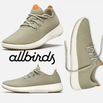 allbirds Runners Rubber Sole Lace-up Casual Style Low-Top Sneakers