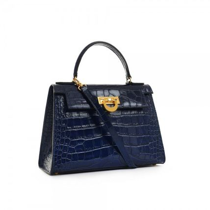 Casual Style Calfskin 2WAY Crossbody Formal Style  Handbags