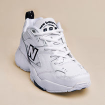 New Balance 608 Casual Style Unisex PVC Clothing Logo Low-Top Sneakers