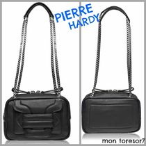 Pierre Hardy Casual Style Plain Leather Shoulder Bags