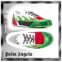Palm Angels Unisex Suede Plain Leather Sneakers