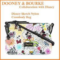 Dooney & Bourke Casual Style Nylon Collaboration Shoulder Bags