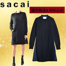 sacai Casual Style Cotton Party Style Shirts & Blouses