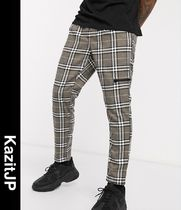ASOS Printed Pants Other Plaid Patterns Patterned Pants