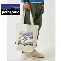 Patagonia Casual Style Unisex Street Style Totes