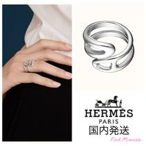 HERMES Chaine dAncre Chaine D'Ancre Twist Ring, Small Model