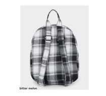 RVCA Gingham Casual Style Street Style Logo Backpacks