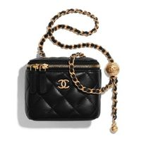 CHANEL MATELASSE Blended Fabrics Chain Plain Leather Special Edition