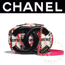 CHANEL Other Plaid Patterns Casual Style Lambskin Street Style 2WAY