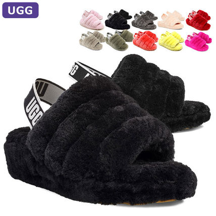 UGG Australia FLUFF YEAH Casual Style Slippers Sandals