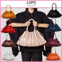 Lupo Barcelona Casual Style Street Style Plain Leather Handmade Party Style