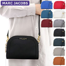 MARC JACOBS Casual Style 2WAY Plain Leather Crossbody Shoulder Bags