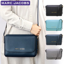 MARC JACOBS Casual Style Plain Leather Crossbody Shoulder Bags