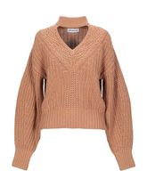 SELF PORTRAIT Casual Style Wool Long Sleeves Plain Cotton Office Style