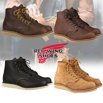 RED WING Street Style Plain Leather Boots