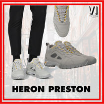 Heron Preston Suede Sneakers