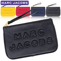 MARC JACOBS Plain Leather Logo Pouches & Cosmetic Bags