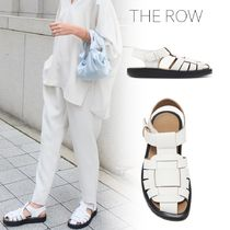 The Row Casual Style Plain Leather Sandals Sandal