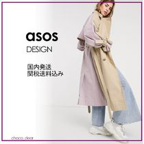 ASOS Casual Style Plain Long Icy Color Coats