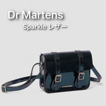 Dr Martens Casual Style Unisex Street Style Plain Leather Satchels