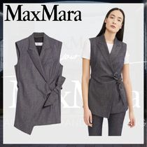 MaxMara Casual Style Party Style Vest Jackets