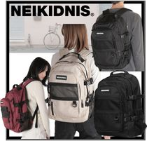 NEIKIDNIS Casual Style Unisex Street Style Backpacks
