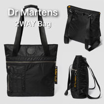 Dr Martens Casual Style Unisex Nylon Street Style 2WAY Plain Totes