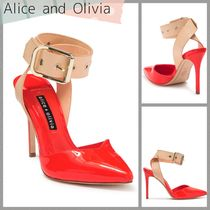 Alice+Olivia Party Style Elegant Style Pointed Toe Pumps & Mules