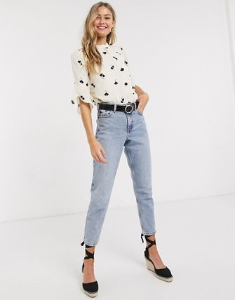 Casual Style Medium Office Style Shirts & Blouses