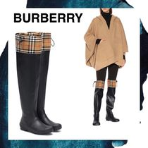Burberry Round Toe Rain Boots Boots
