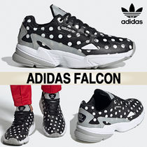 adidas FALCON Dots Casual Style Blended Fabrics Street Style